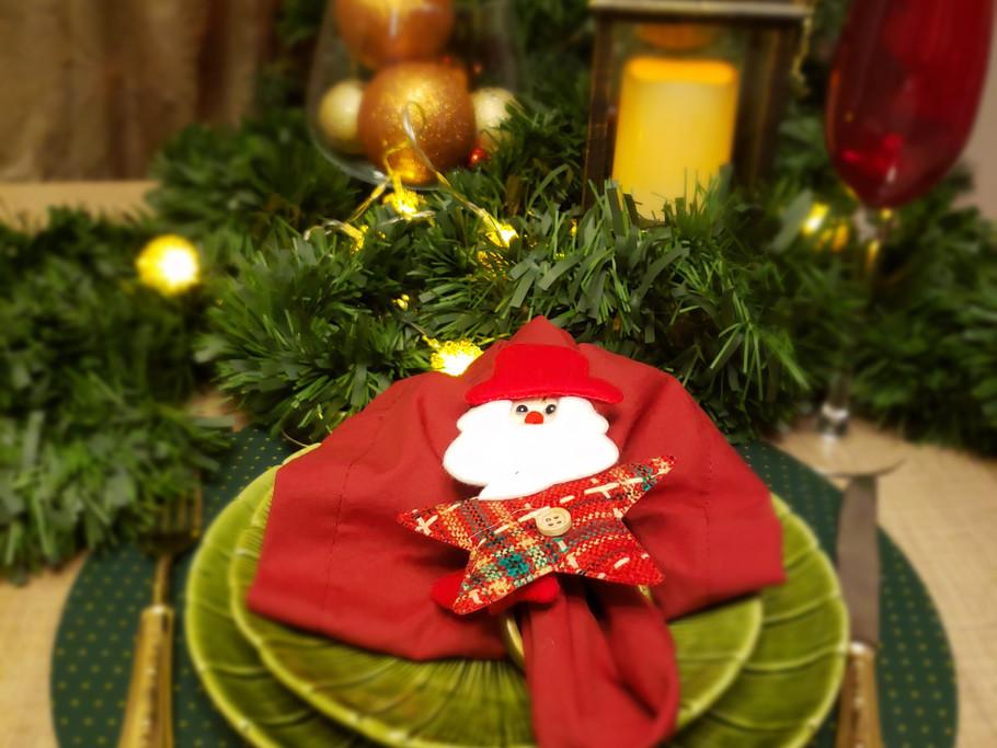Sousplat de Natal