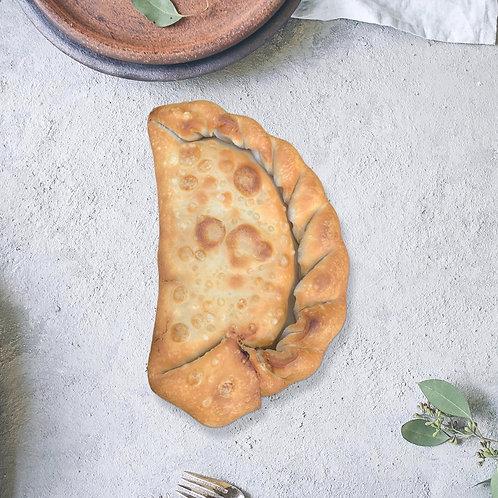 """Docena de empanadas de """"Bistec"""" vegano"""
