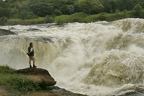 Murchison falls, Uganda, www.davesimpsonsafaris.com, safari, camping, fun, water, white.