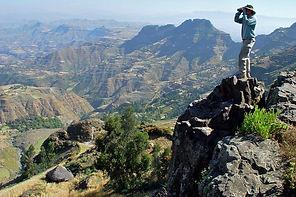 www.davesimpsonsafaris.com, Ethiopia, Simien mountain, view, scenery,
