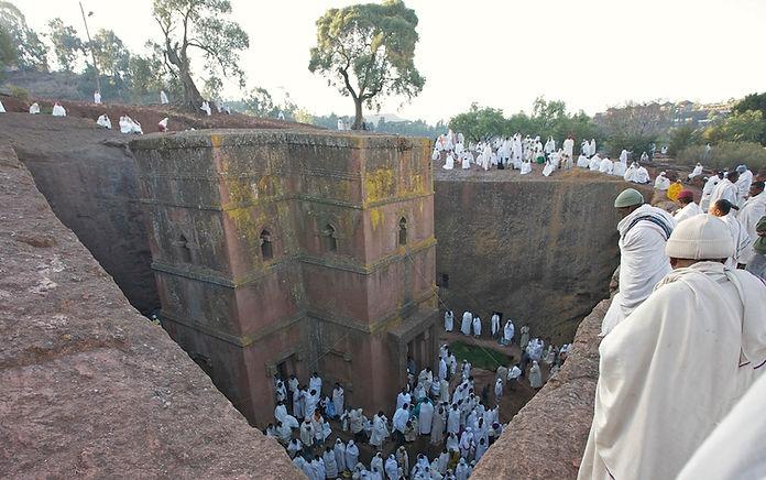 www.davesimpsonsafaris.com, Ethiopia, Lalibela, St Georges Church, church, safari, people, rock, hewn