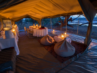 Camping in Buffalo Springs - Northern Kenya