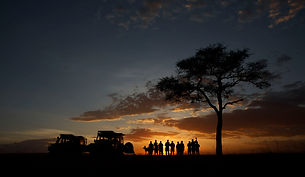 sunset, camping, drinks, fun, colours, camping, Kenya, Maasai Mara, www.davesimpsonsafaris.com