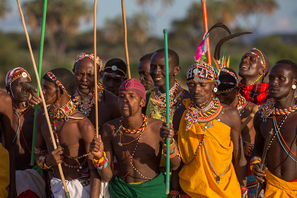 The Samburu Warriors doing what they do best :)))