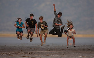 fun, jumping, kids, safari, camping, wild, laughter, family, Kenya, www.davesimpsonsafaris.com