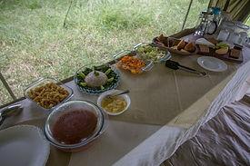 food, camping, www.davesimpsonsafaris.com
