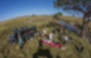 picnic, breakfast, safari, camping, comfortable, eggs, bacon, cooking, gas, www.davesimpsonsafaris.com