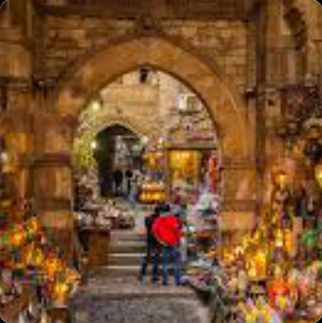 Explore an Egyptian Market