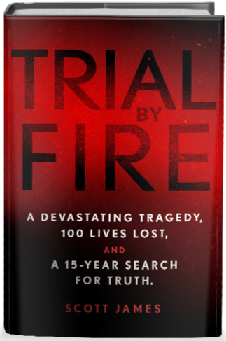 Trial By Fire Book Cover - 3D