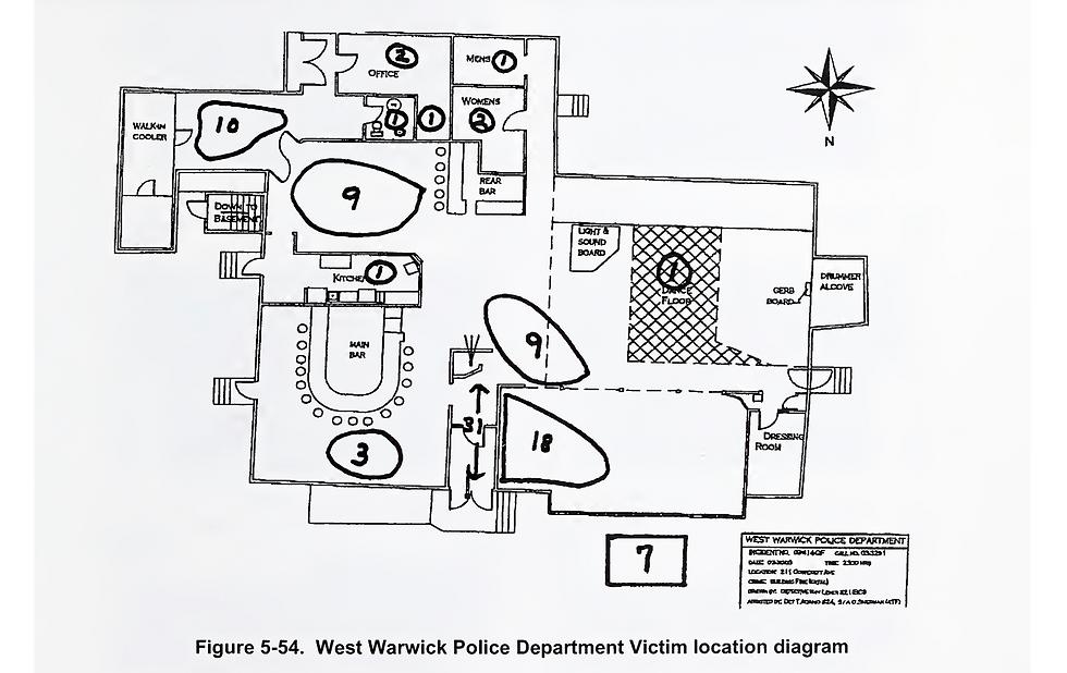 Station nightclub body locations - West