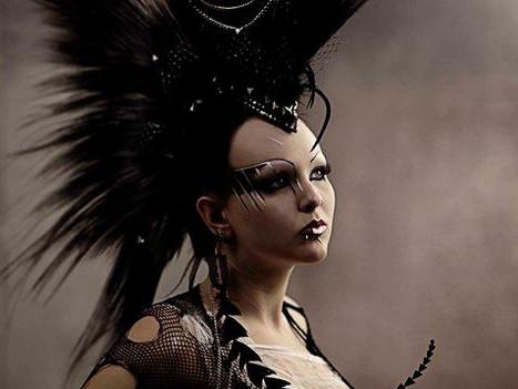 Natural Fiber Mohawk Headdress