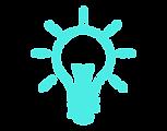 Lightbulb innovative icon