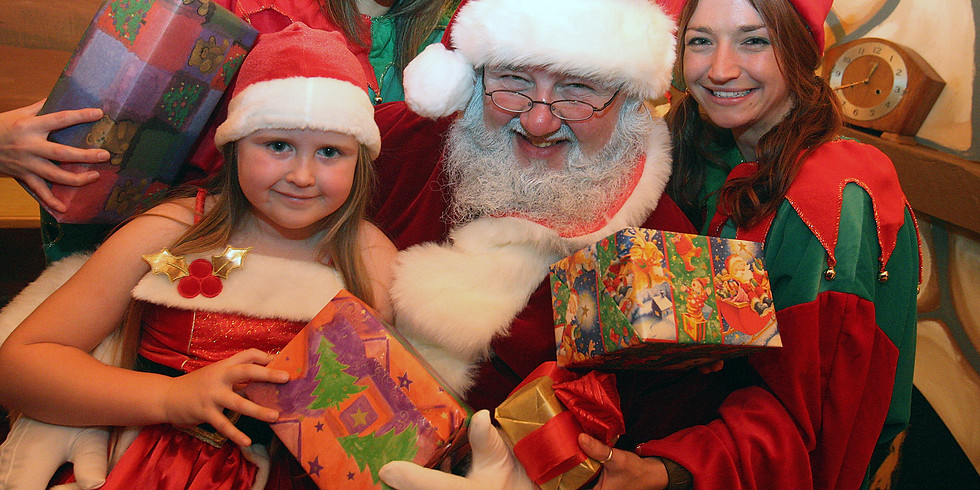 1/12-4.30pm to 5.00pm Christmas Grotto Visit