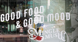 Good Food & Good Mood that is what you can find in MingleMush