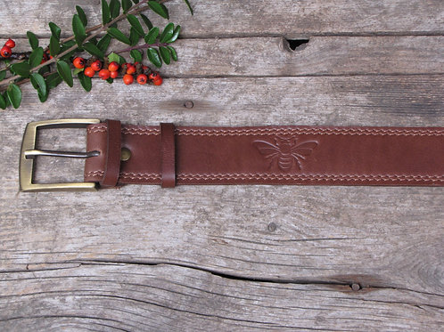 Belt with bees 4 cm