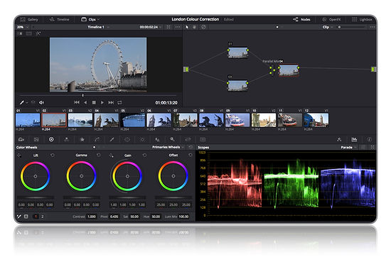 Divinci Resolve Color Grading Training