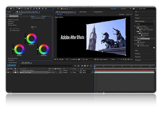 Color Correction After Effects