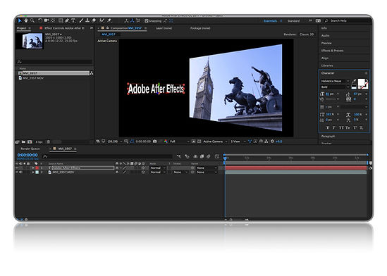 After Effects Intro Training