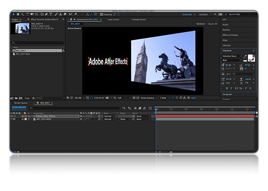 Adobe After Effects Intermediate Training, UK Training, Cut-it Training