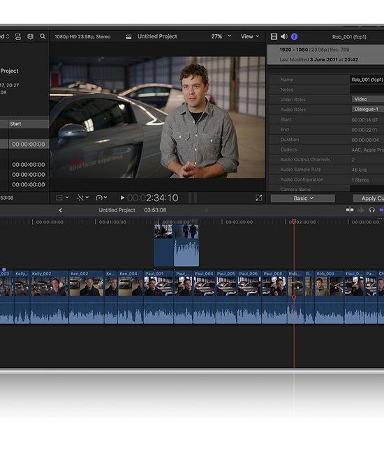 Apple Final Cut Pro X Advanced Training