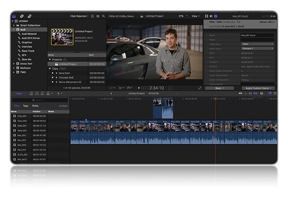 Final Cut Pro X Intro Training