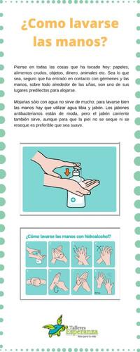 ¿Como lavarse las manos?