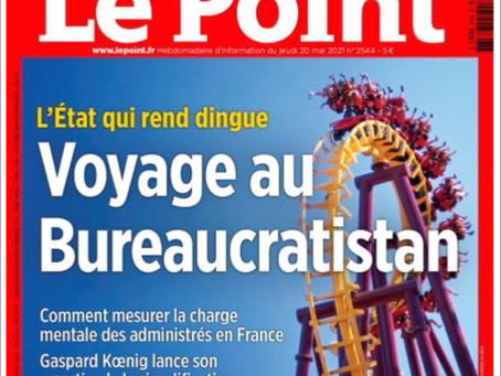 ITW. Le Point. Bureaucratie : Valérie Petit contre « le burn-out administratif »