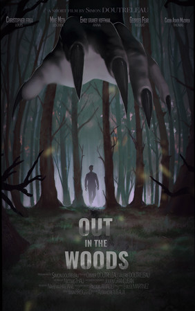 Poster OUT IN THE WOODS