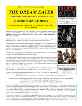 Press Release THE DREAM EATER