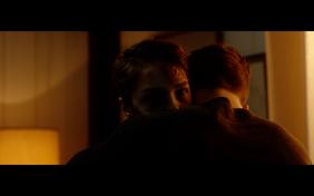 Louis huging Thomas