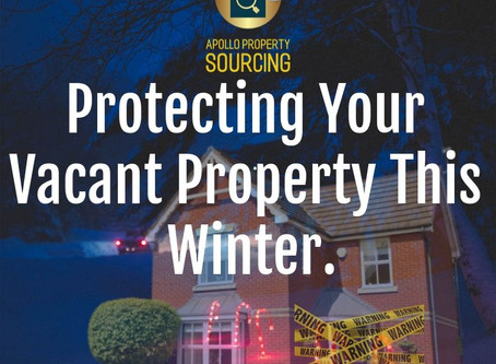 Our Top Tips for Protecting Your Vacant Property This Winter