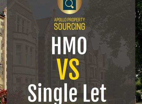 Single Lets VS HMO's