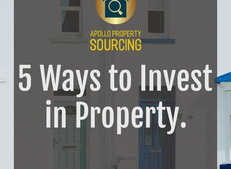 5 Ways to Invest in Property