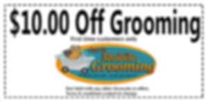 pet grooming coupons