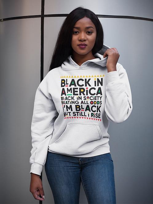 Black In America Hoodie