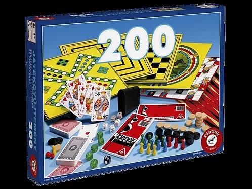 Piatnik 630798 - Spielesammlung 200