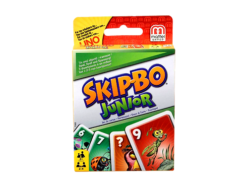 Mattel T1882 - Skip-Bo Junior
