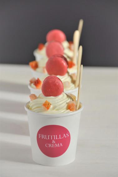 Frutillas & Crema