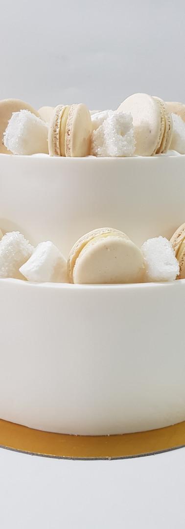 Clasica en pasta de azucar macarons y ma