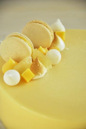 Mousse de Limón Apto Celíacos
