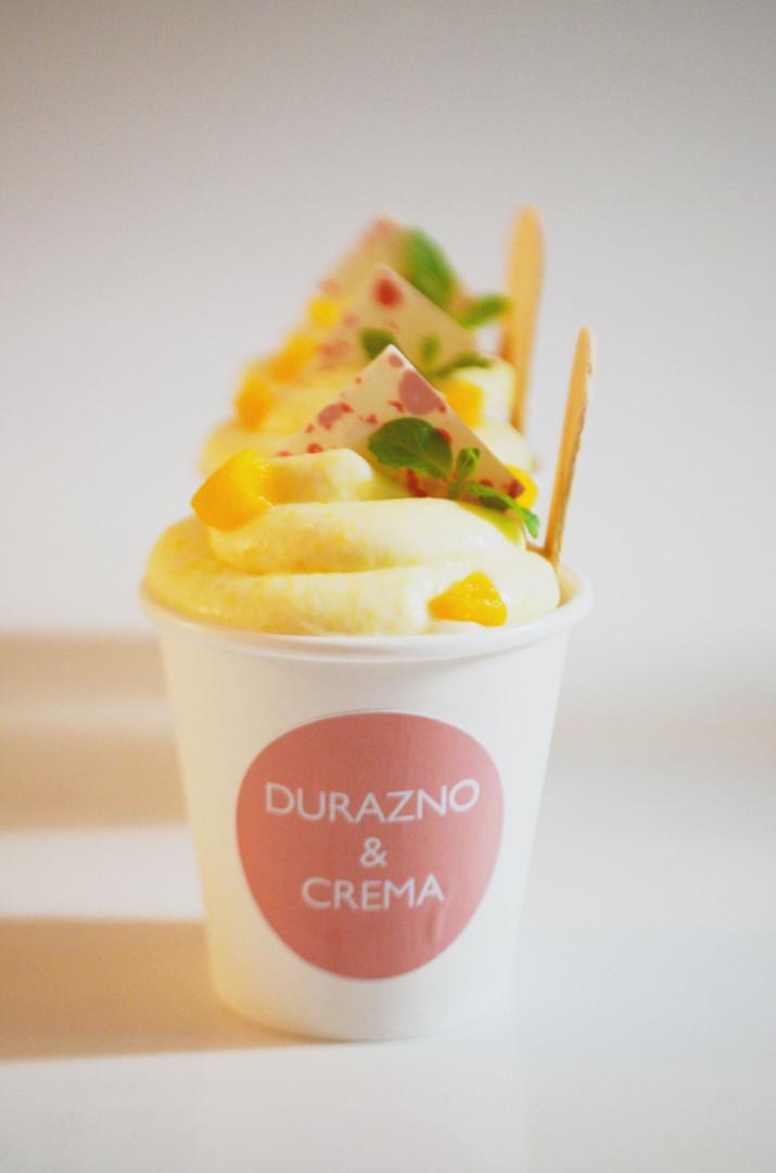 Durazno & Crema