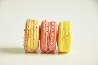 Macaron Maracuyá Frambuesa y Limón