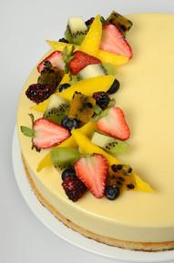 Mousse de Maracuyá y Frutas