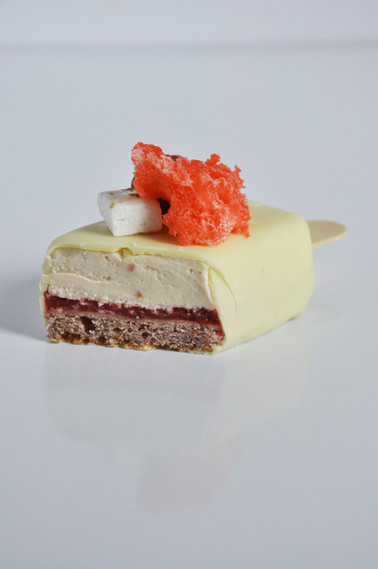 Magnum Frambuesa y Chocolate Blanco