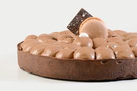 Tarta de Avellanas y Chocolate