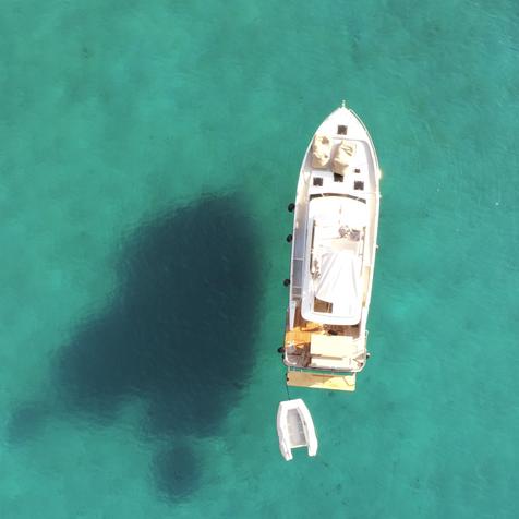 Fast wie in der Karibik -  die Kaverner Bucht bei Krk