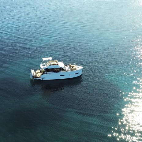 VAIA Holiday Boote vor der Insel Losinj