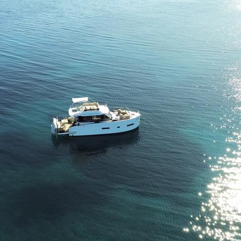 AVA  HOLIDAY Boot Charter vor Punat, Krk