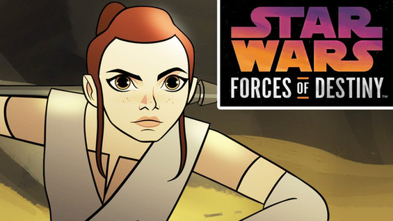 Kathleen Kennedy, Dave Filoni and Carrie Beck give a sneak peek on Star Wars: Forces of Destiny.