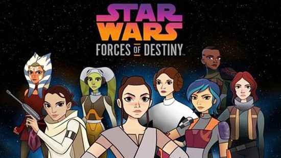 Star Wars: Forces of Destiny on Disney Channel